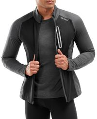 2XU Wind Defence Membrane - Jacka - Charcoal/Black