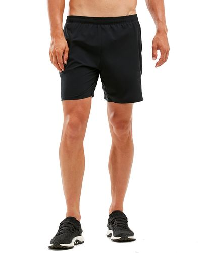 2XU XVENT 7'' - Shorts - Svart (MR5807b-XL)
