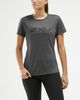 2XU XCTRL Womens - T-shirt - Charcoal Marle/ Black (WR5982a-M)