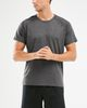 2XU XCTRL X - T-shirt - Charcoal Marle (MR5845a)