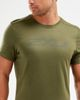 2XU XCTRL - T-shirt - Moss (MR5871a-XL)