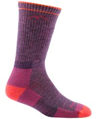 Darn Tough Hiker Boot Sock - Strumpor - Plum (1907-Plum)