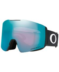 Oakley Fall Line XL Black - Goggles - Prizm Snow Sapphire (OO7099-03)