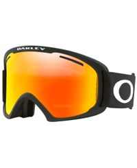 Oakley O Frame 2.0 Pro XL Black - Goggles - Fire Iridium & Persimmon