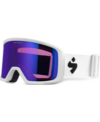 Sweet Protection Firewall Satin White - Goggles - Satin Sapphire