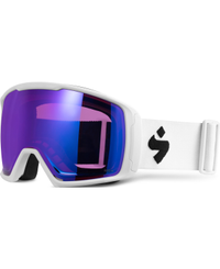 Sweet Protection Clockwork BLI Satin White - Goggles - RIG Sapphire/ RIG Light Amethys (850026-RSLAM-SWHT)