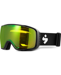 Sweet Protection Interstellar Matte Black - Goggles - Beryl Yellow - L (850019-BLYLW-MBLK)