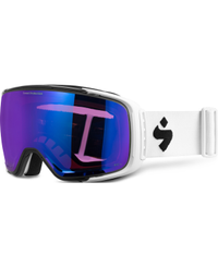 Sweet Protection Interstellar RIG Satin White - Goggles - RIG Sapphire (850017-RSAPP-SWHT)