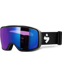 Sweet Protection Interstellar RIG Matte Black - Goggles - RIG Sapphire (850017-RSAPP-MBLK)