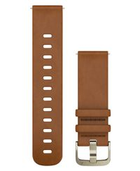 GARMIN Quick Release 20 Leather - Klockarmband - Brun (010-12691-02)