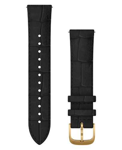 GARMIN Quick Release 20 Leather - Klockarmband - Svart (010-12924-22)