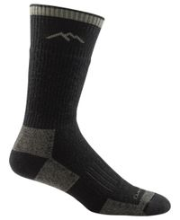 Darn Tough Hunter Boot Sock - Strumpor - Grå (2012-Charcoal)