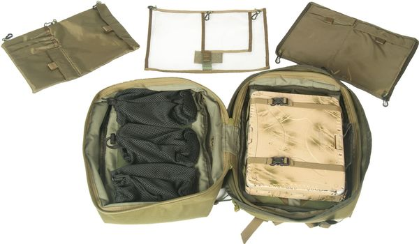 Berghaus Tactical MMPS Organiser PLUS Pocket - Ryggsäckar - Svart (LV00060-BP6)