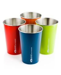 GSI Outdoors Glacier Stainless Pint Set - Kopp (970476)