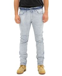 SA1NT 5 Pocket Jeans - Byxor - Light Bleached (4302-SMP-LGTBLC)