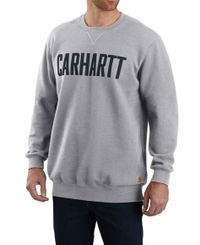 Carhartt Graphic Crewneck - Tröja - Heather Grey (103853HGY)