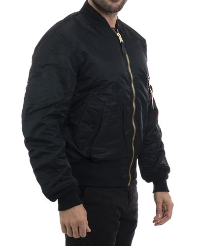 Alpha Industries MA-1 - Jacka - Svart (193100101-03)