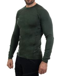 Tufte Wear Bambull Crew Neck - Tröjor - Deep Forest (1001-033)