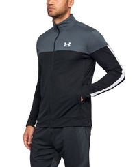 Under Armour Sportstyle Pique - Jacka - Stealth Gray/ White (1313204-008)