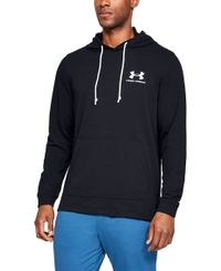 Under Armour Sportstyle Terry - Huvtröjor - Svart (1329291-001)