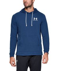 Under Armour Sportstyle Terry - Huvtröjor - Blå (1329291-449)