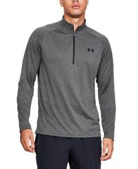 Under Armour Tech 1/2 Zip - Tröjor - Kol (1328495-090)