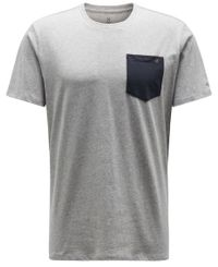Haglöfs Mirth - T-shirt - Grey Melange/ Slate (603542-49M)