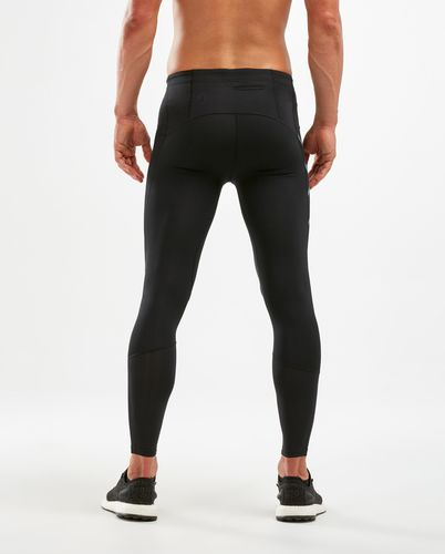 2XU Run Dash Comp - Tights - Black/ Denim Reflective (MA6067b)