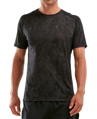 2XU GHST - T-shirt - Black/ Corrosion (MR5663a)