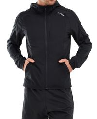 2XU XVENT Run - Jacka - Black/ Silver Reflective (MR6069a)