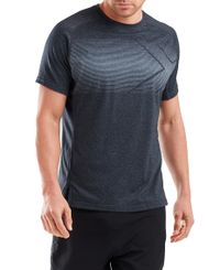2XU Training - T-shirt - Dark Marle/ Black (MR6094a)