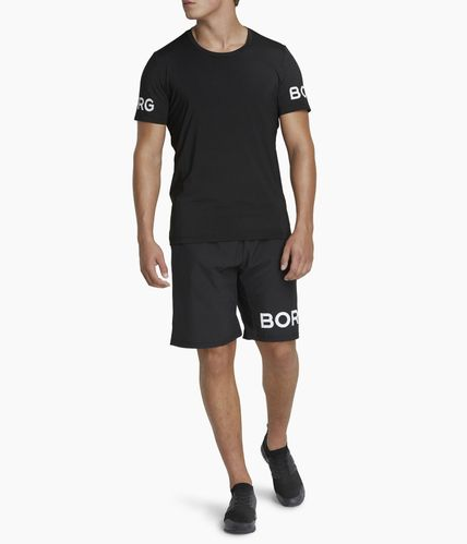 Björn Borg Borg Tee - T-shirt - Black Beauty (9999-1140-90651)