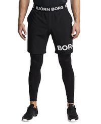 Björn Borg August - Shorts - Black Beauty (9999-1191-90651)