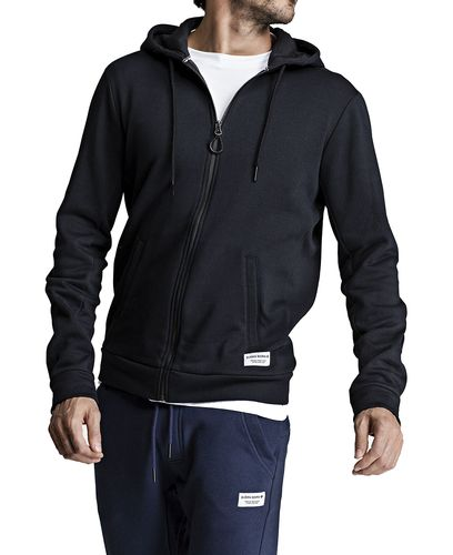 Björn Borg BB Centre Hoodie - Huvtröjor - Black Beauty (9999-1114-90651)