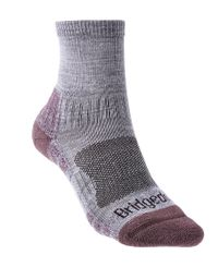 Bridgedale Hike Lightweight Ankle Womens - Strumpor - Heather/ Damson (BD608-814)