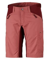 Lundhags Makke Womens - Shorts - Crystal/Dk Red