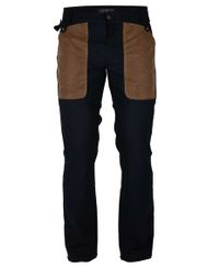 Amundsen Field Slacks - Byxor - Faded Navy/Tan (MPA53.1.590)