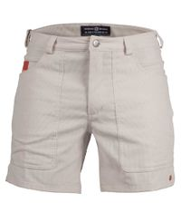 Amundsen 7 Incher Concord - Shorts - Natural/ Cowboy (MSS54.1.610)