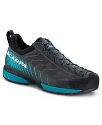 Scarpa Mescalito GTX - Sko - Shark-Lake Blue (72100-200)