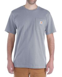 Carhartt Workwear Pocket - T-shirt - Heather Grey (103296034)