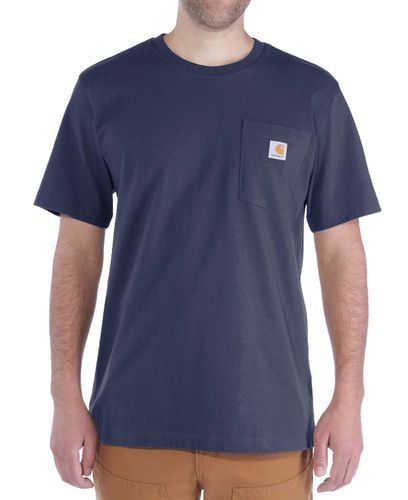 Carhartt Workwear Pocket - T-shirt - Marinblå (103296412)