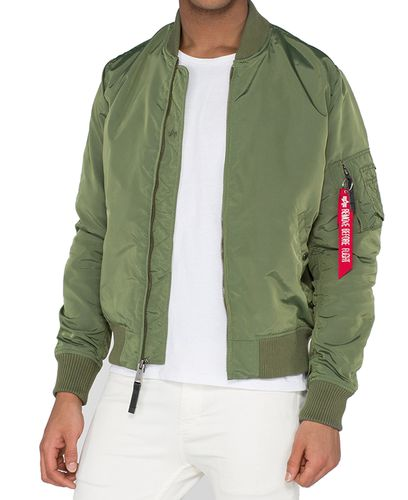 Alpha Industries MA-1 TT - Jacka - Sage Green (191103-01)