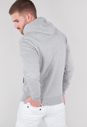 Alpha Industries Basic Hoody - Huvtröjor - Grå (178312-17)