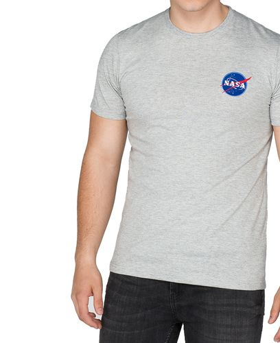 Alpha Industries Space Shuttle T - T-shirt - Grå (176507-17)