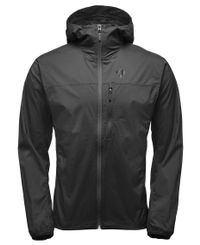 Black Diamond Alpine Start Hoody - Jacka - Smoke