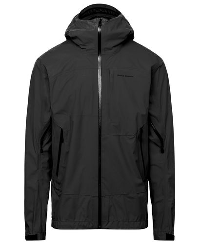 Black Diamond Highline Strech Shell - Jacka - Svart (AP7450000002)