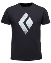 Black Diamond Chalked Up - T-shirt - Svart (APUO950002)