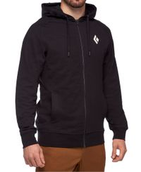 Black Diamond Stacked Full Zip - Huvtröjor - Svart (AP7300550002)