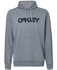 Oakley Reverse Hoodie - Huvtröjor - New Granite Heather (FOA400452-28B)