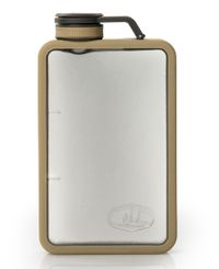 GSI Outdoors Boulder Flask 6 Oz - Flaska - Sand (GSI-974308)